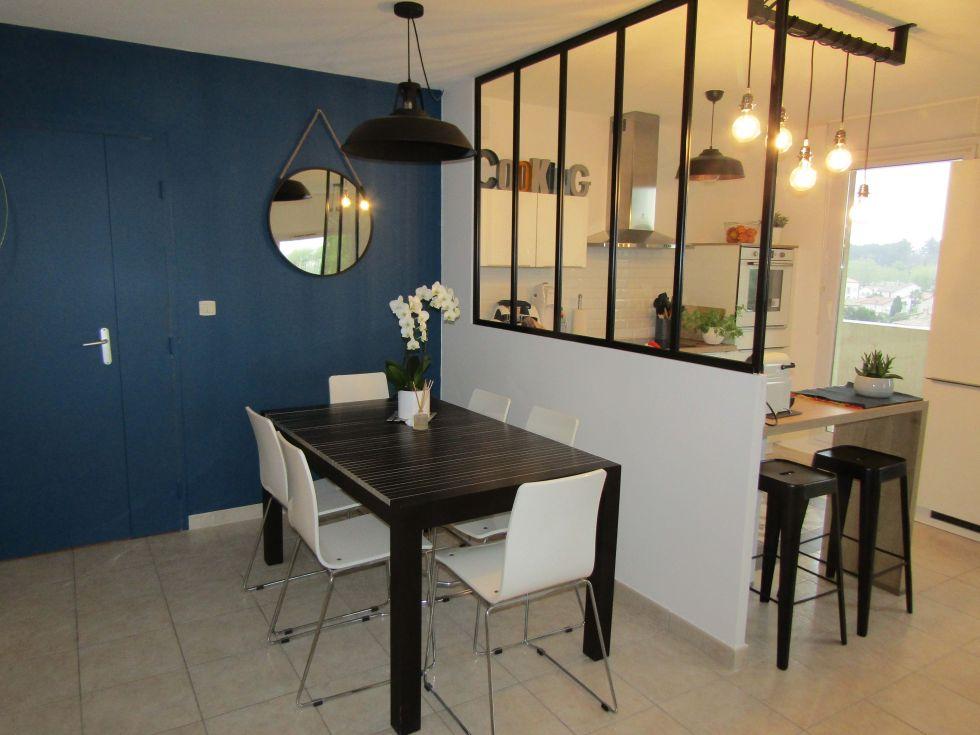 Relooking D Un Espace Cuisine Salle A Manger Avec Verriere Renov Immo