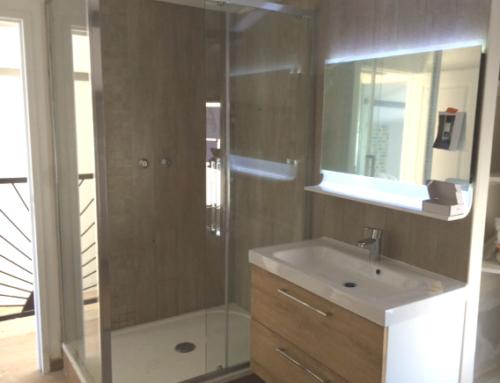 Création d'une salle de bain pour une suite parentale