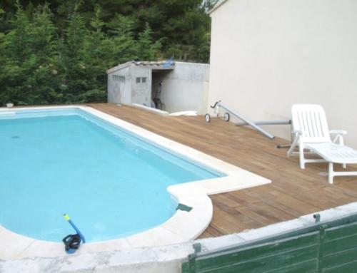 Création de terrasse en bois exotique