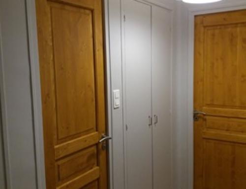 Peinture et portes bois