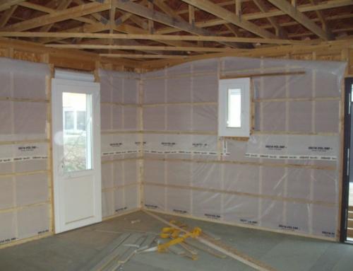 Isolation plancher et mur en ouate de cellulose