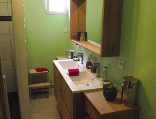 Adaptation de salle de bain pour personne âgée