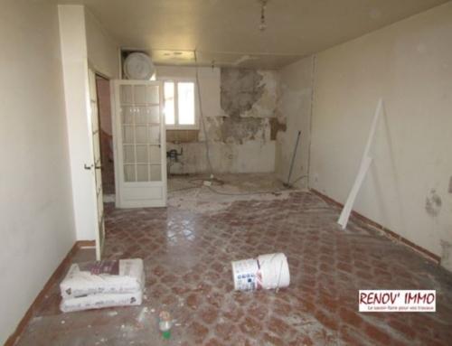 Rénovation totale d'un appartement ancien