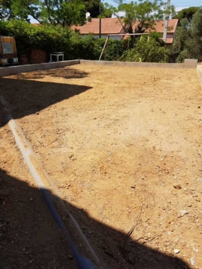 Extension - Travaux en cours - Lavera