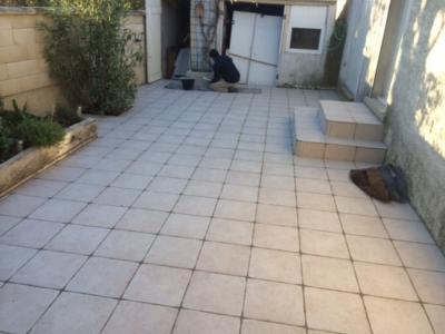 Rénovation complète terrasses à Istres
