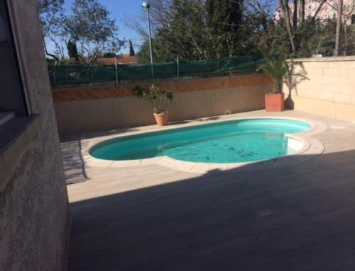 Rénovation complète de terrasses et plage de piscine
