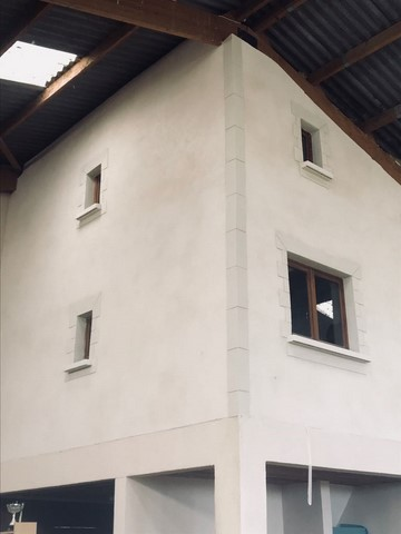Réfection de façade à St Martin de Crau