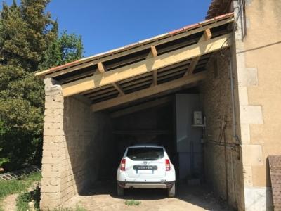 réfection et rehaussement toiture à Istres